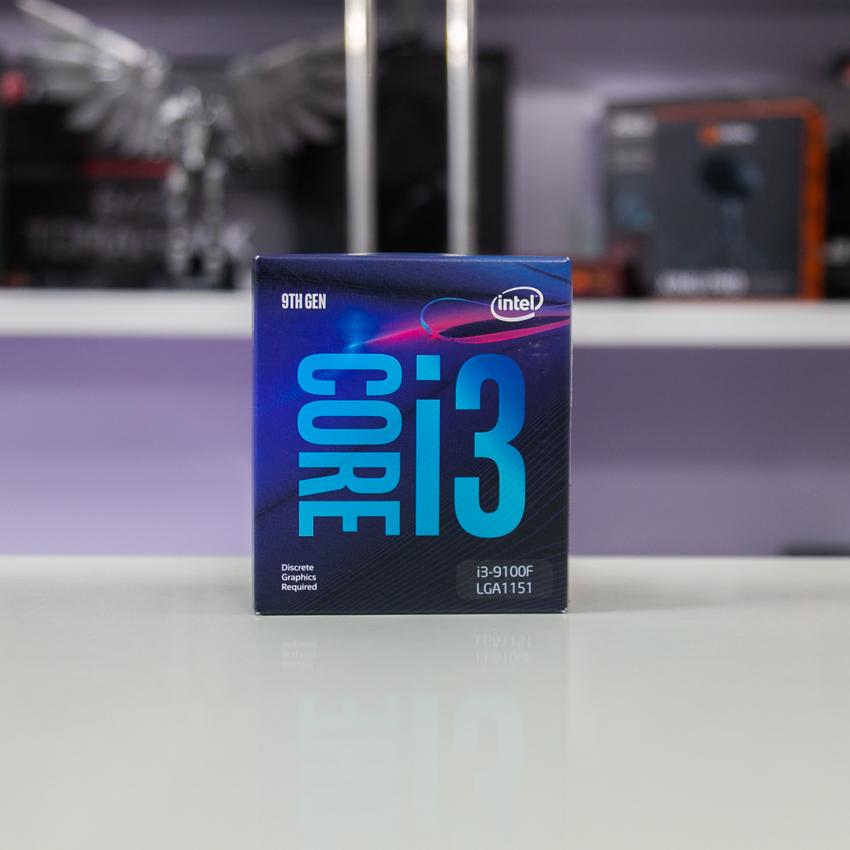 CPU Intel Core i3-9100F (3.6Ghz, 4 nhân 4 luồng, 6MB Cache, 65W) - Socket Intel LGA 1151-v2 chính hãng
