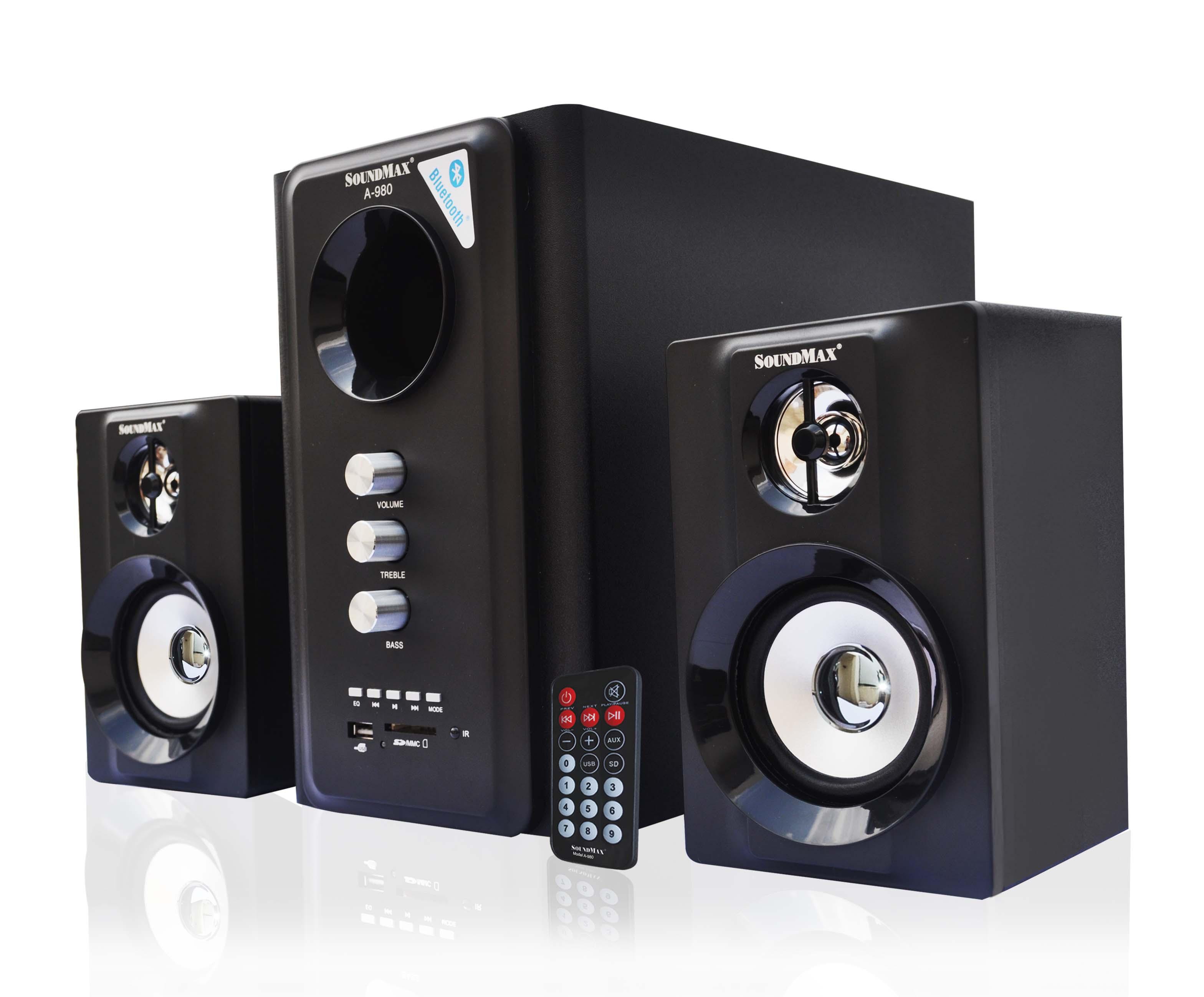 Loa SoundMax A-980 - 2.1 Bluetooth chính hãng