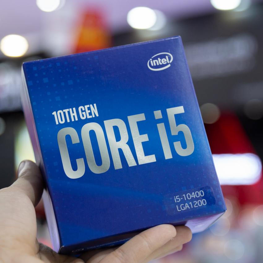 CPU Intel Core i5-10400(2.9GHz turbo up to 4.3GHz, 6 nhân 12 luồng, 12MB Cache, 65W) - Socket Intel LGA 1200 chính hãng
