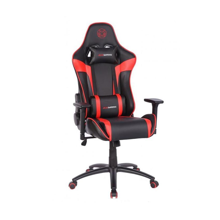 Ghế Gamer ACE Rogue Series KW-G6027 - Black/Red chính hãng