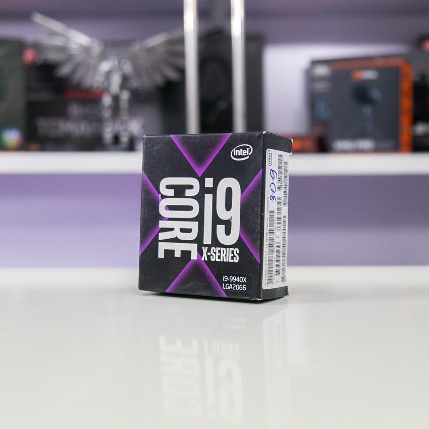 CPU Intel Core i9-9940X (3.3GHz turbo up to 4.4GHz, 14 nhân 28 luồng, 19.25MB Cache, 165W) - Socket Intel LGA 2066 chính hãng