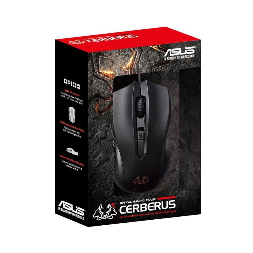 Chuột chơi game ASUS Cerberus Optical Gaming Mouse chính hãng