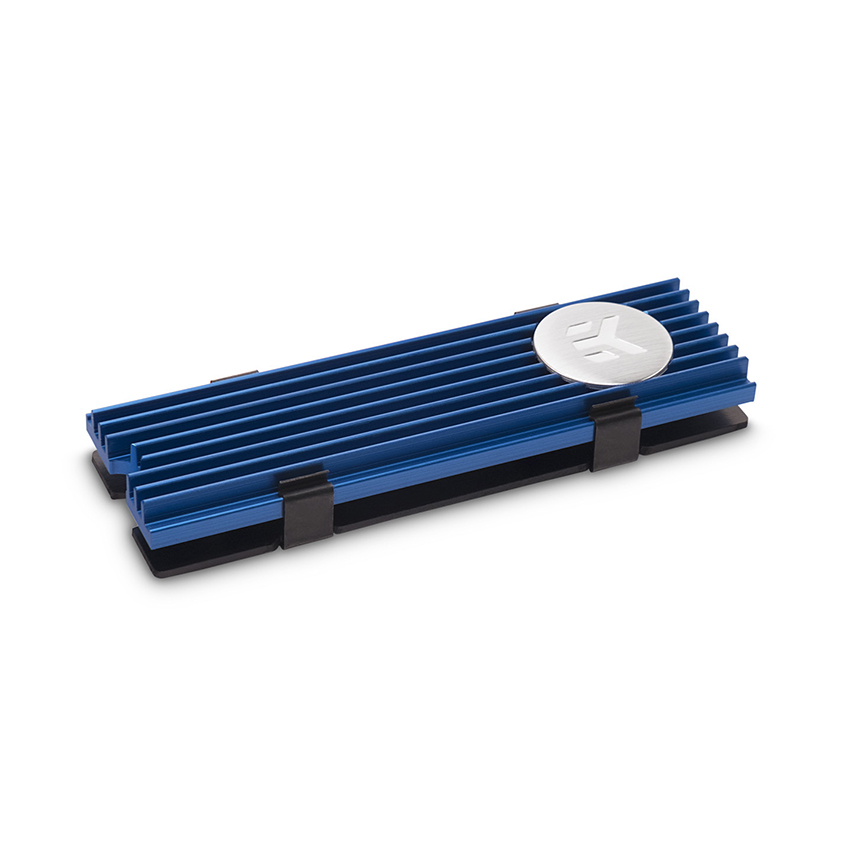 Tản nhiệt SSD EK-M.2 NVMe Heatsink - Blue chính hãng