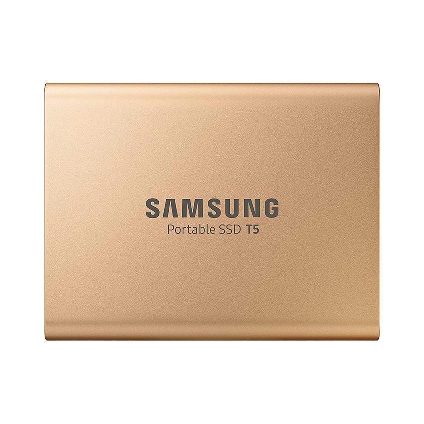 Ổ cứng gắn ngoài SSD Samsung Portable T5 500GB Gold(Đọc 540MB/s - Ghi 540MB/s) - (MU-PA500G/WW) chính hãng