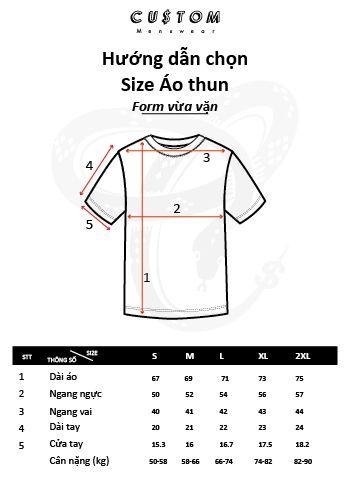 Hướng dẫn đo size áo MEDUSA