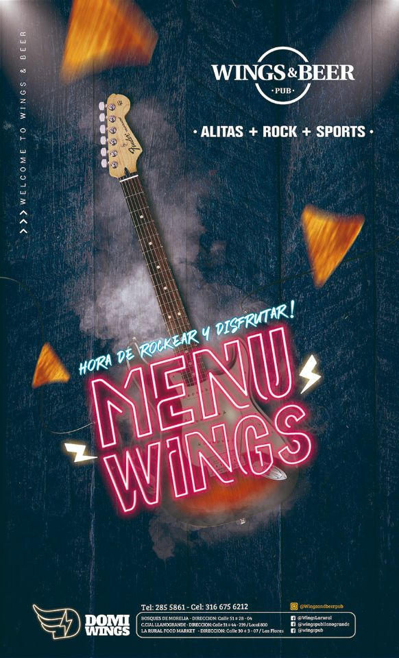 portada wings and beer palmira