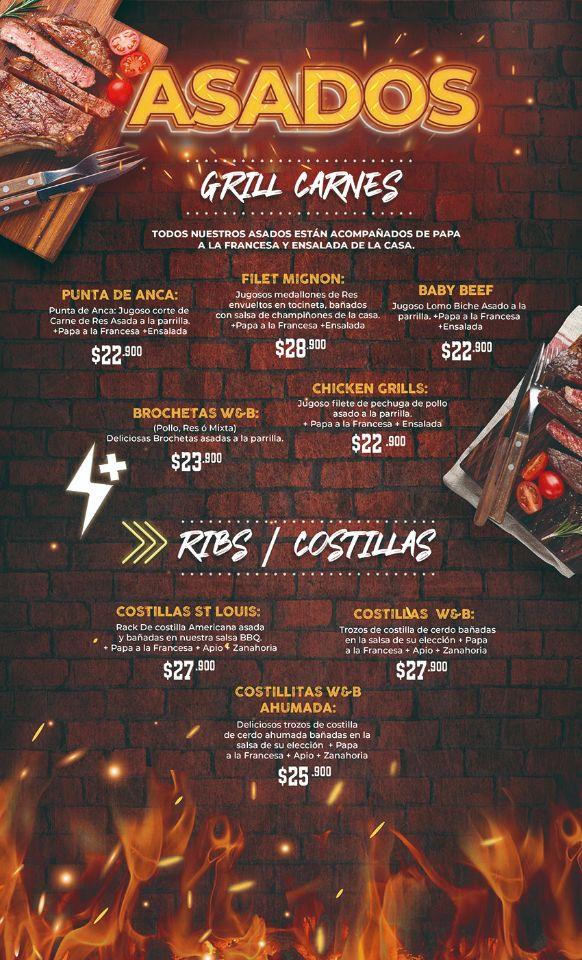 asados - costillas wings and beer palmira