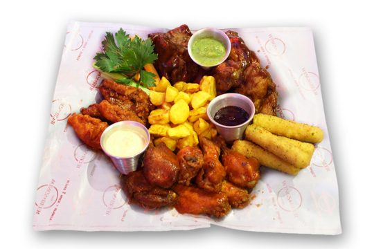 Nuevo combo Familiar Wings And Beer