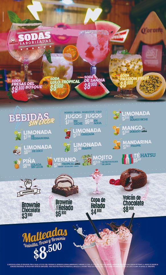 bebidas wings and beer palmira