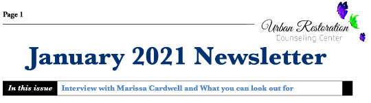 January 2021 Newsletter