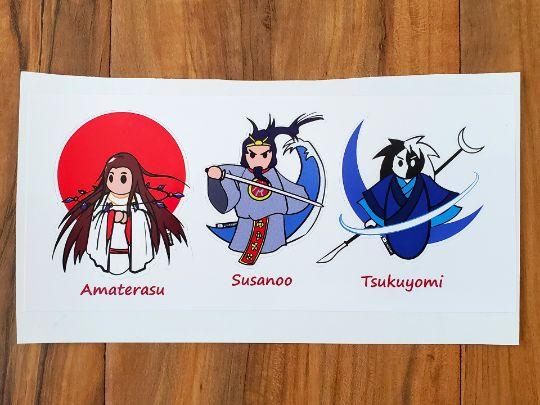 ST001 - Amaterasu, Susanoo, Tsukuyomi