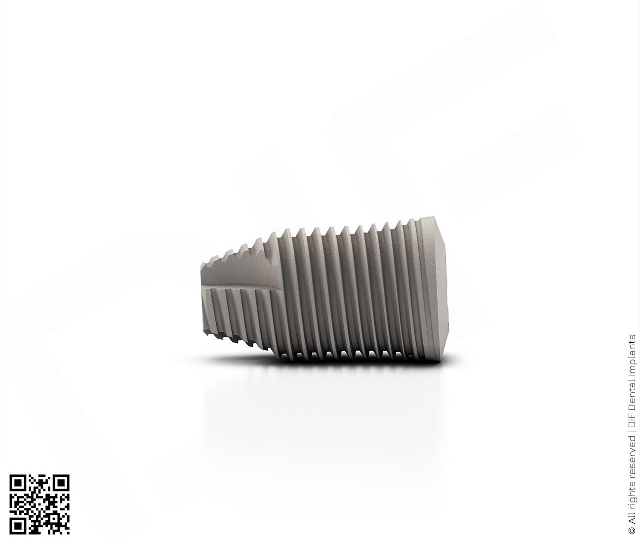 Фото имплантат mainstream fine d6.0 мм – l10.0 мм  производства DIF.
