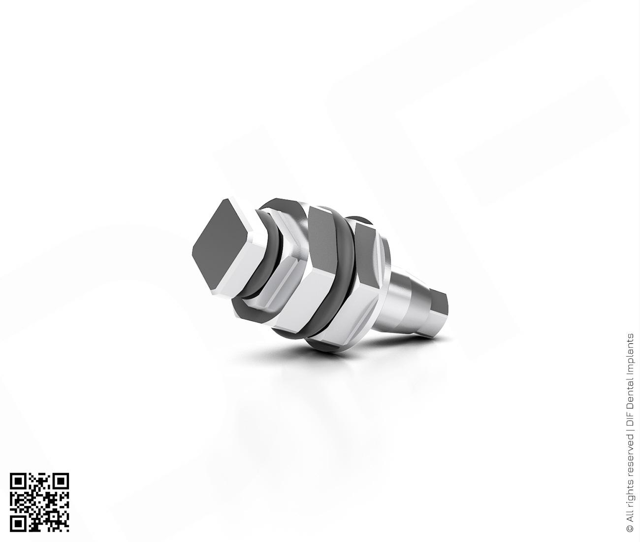 Фото отвертка шестигранная-имплантовод d2.5 мм – l6.0 мм  производства DIF.