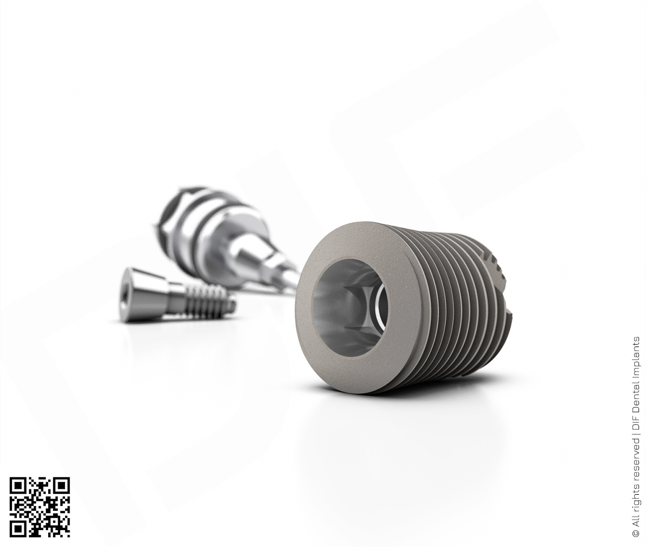 Фото имплантат mainstream fine d6.0 мм – l8.0 мм  производства DIF.