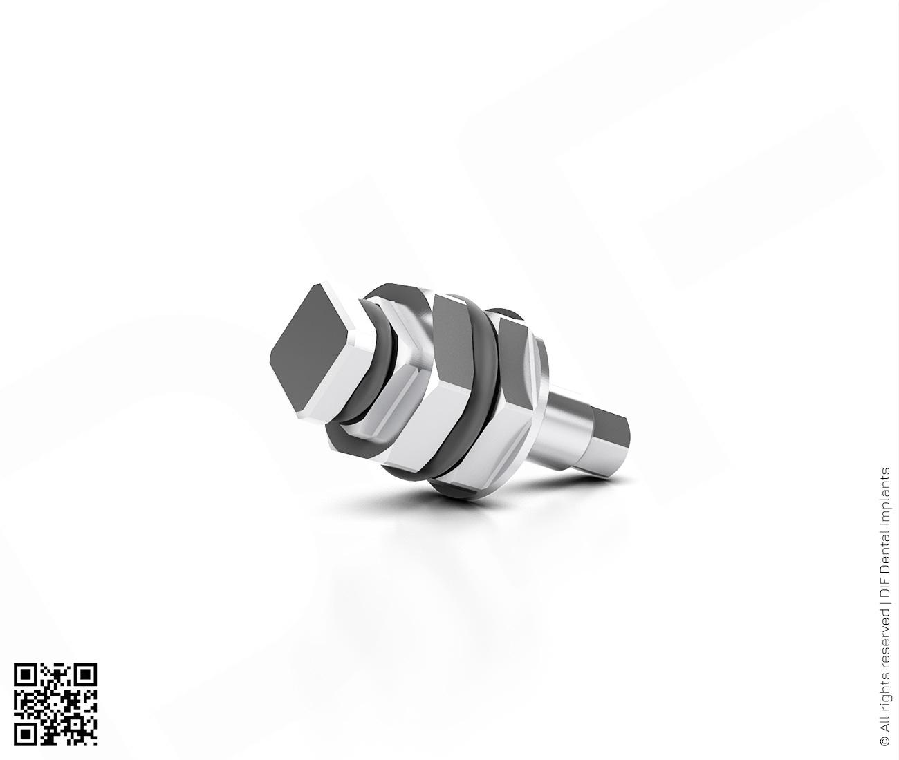 Фото отвертка шестигранная имплантовод d2.4 мм – l6.0 мм  производства DIF.