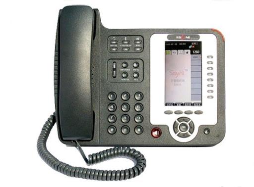 Escene ES320-N -Teléfono IP Gerencial PoE