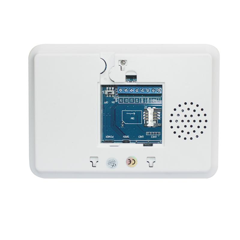 Kit de Alarma Wif GSM y PSTN - Sistema de Seguridad Inalámbrica con 99 Zonas Inalámbricas