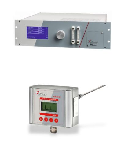 Gas analysers and dust monitors image