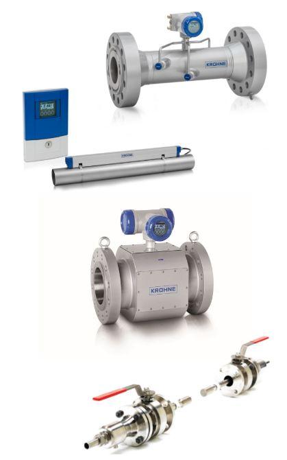 Ultrasonic flow meters image