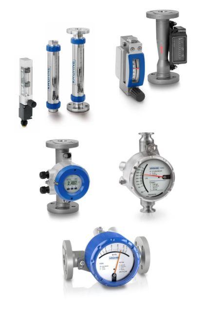 Variable area flow meters image