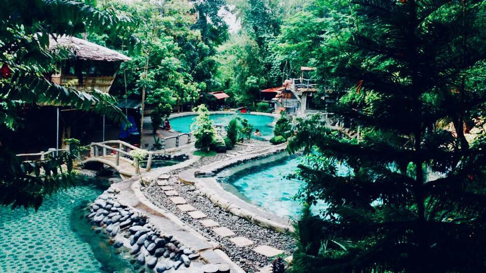 Very nice pool somewhere in the jungle