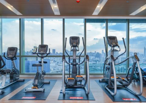 SKY FITNESS (Floor 37)<br>Sky Fitness is a top-class facility fully equipped with state-of-the-art sports equipment.