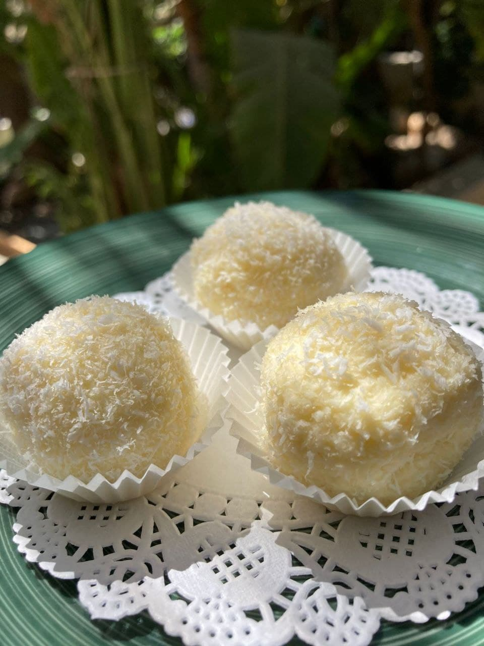 Cottage cheese and Coconut balls