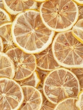 Dried Lemon Slices