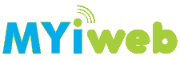 Top left blue and green myiweb logo