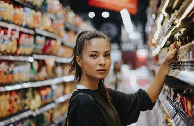 pantallas para supermercados