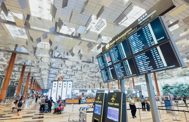 pantallas para aeropuertos