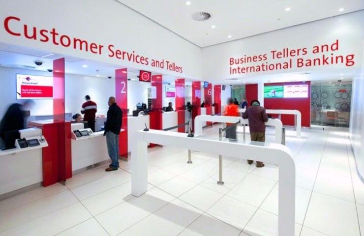 pantallas para bancos