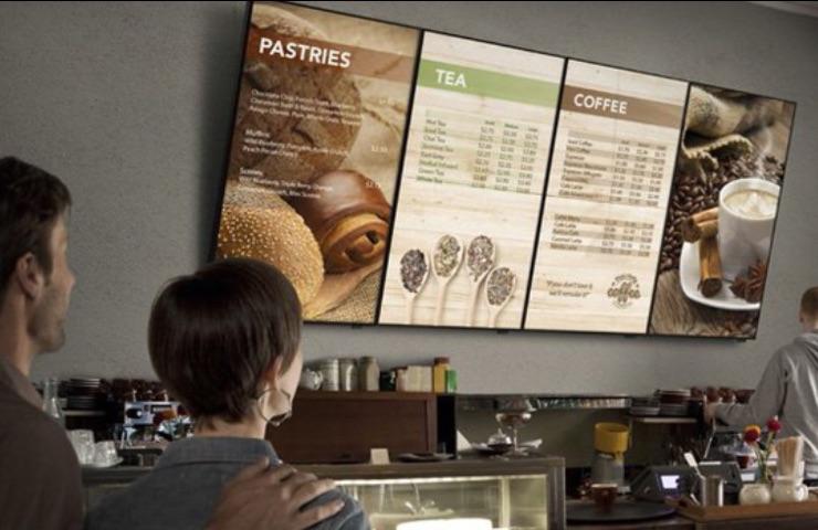pantallas para restaurantes