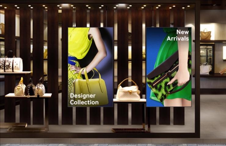 pantallas para tiendas