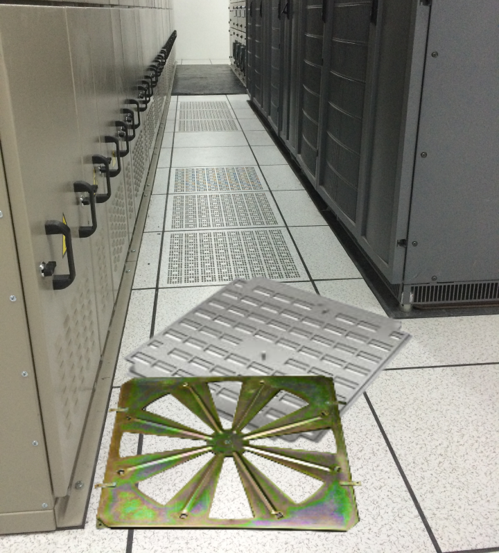 Netline Perforated Panel in Data Centre Application
