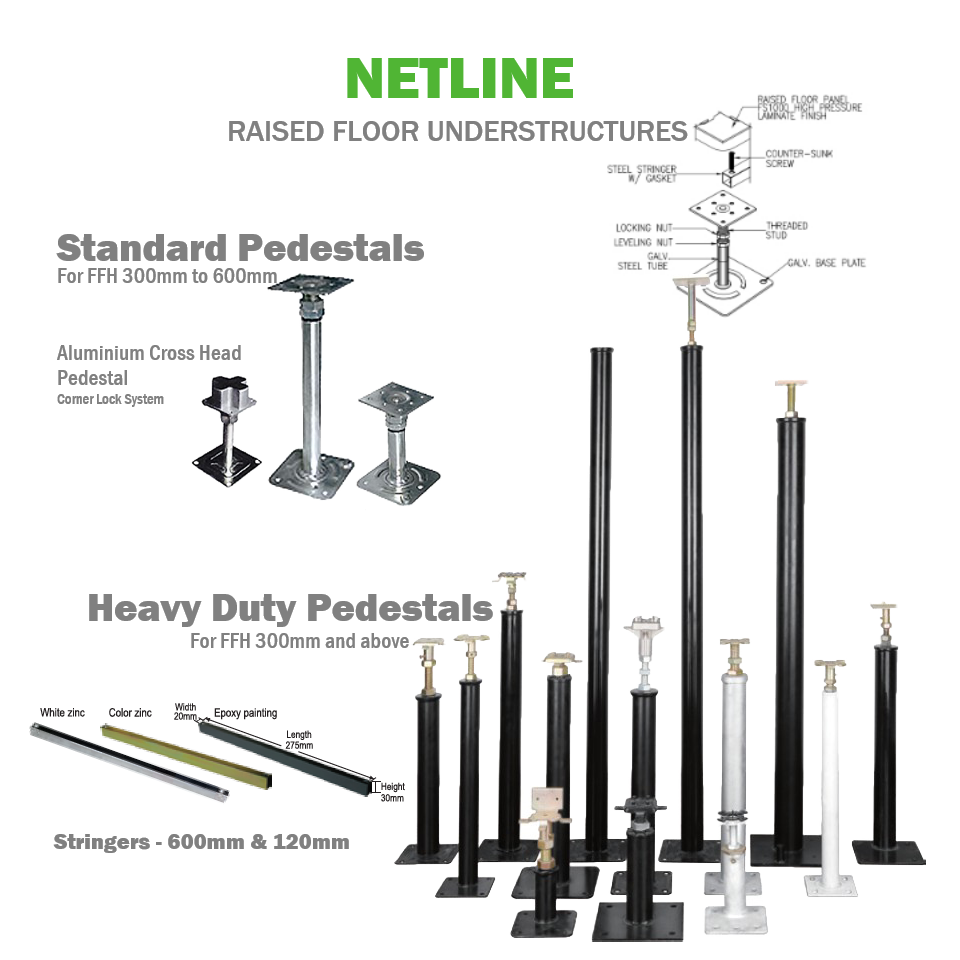 Netline Access Floor Understructure