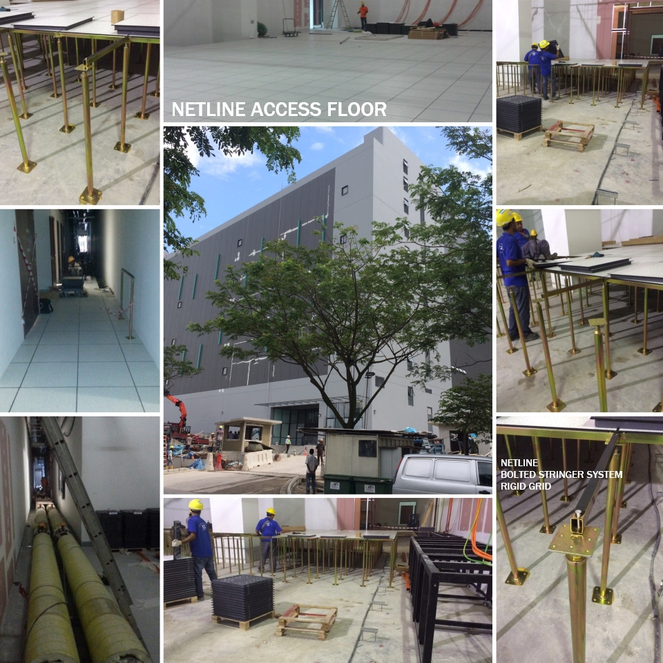 Netline Access Floor Rigid Grid Understructure System