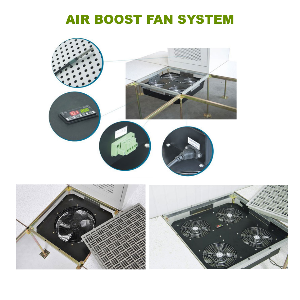 Netline Air Boost Fan System