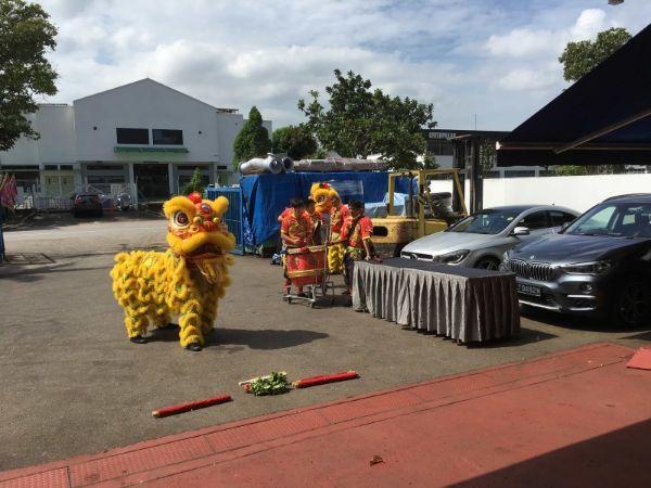 Netline CNY Lion Dance 2019