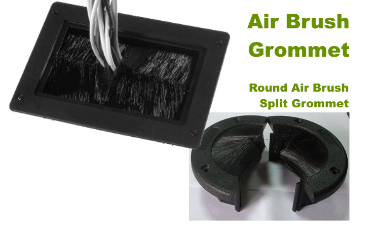Netline Air Brush Floor Grommet