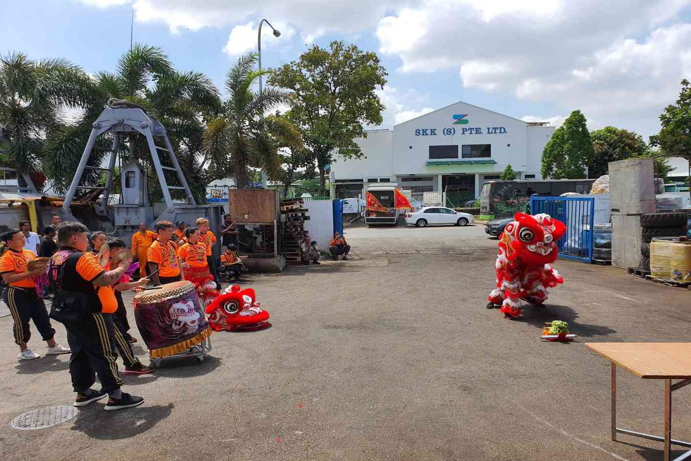 Netline CNY Lion Dance 2020