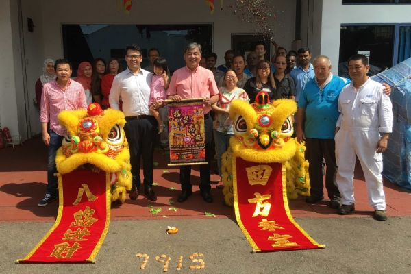 Netline CNY Lion Dance 2019