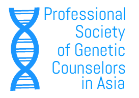 Professional Society of Genetic Counsellors in Asia (PSGCA)