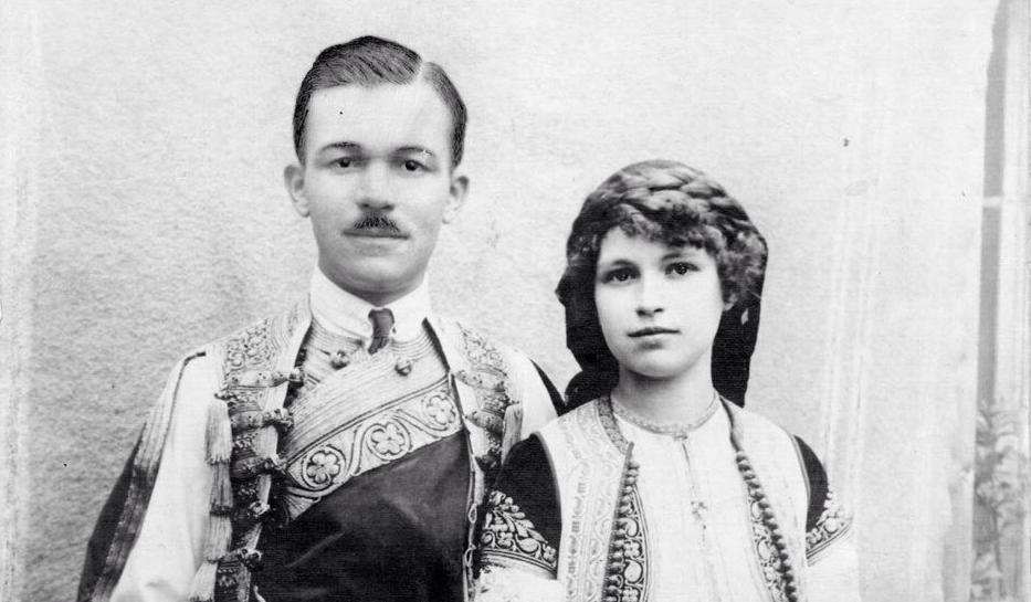 moj deda dr Nikola Keseljevic i moja baka Irena Trompczynska