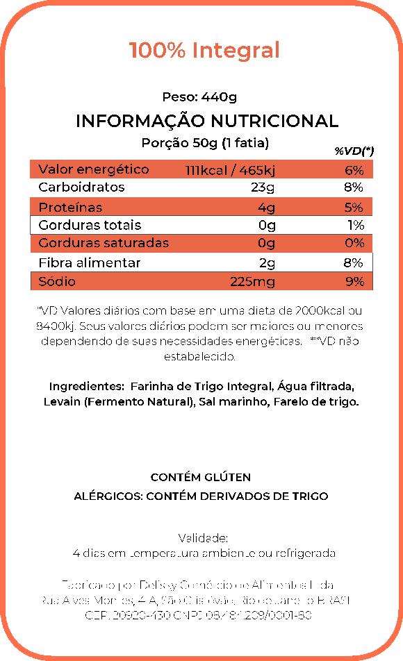Integral - Informações Nutricional
