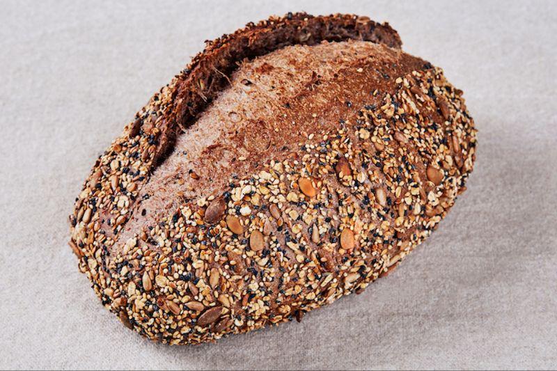 Integral com farinha orgânica e sementes