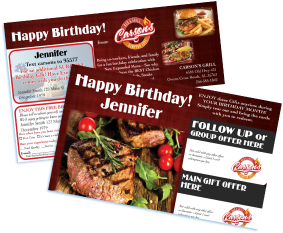 Birthday Marketing