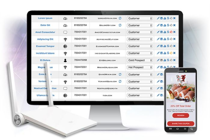 WiFi Marketing for retail. Automate Marketing and boost sales.