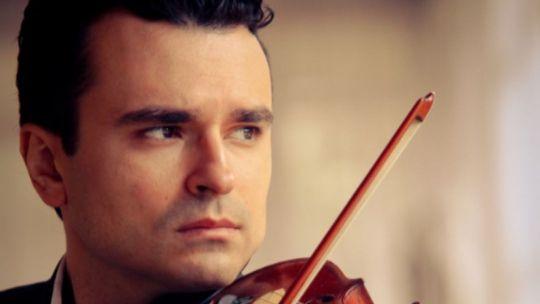 Cármelo de los Santos, violinista