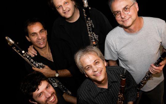 Sujeito a Guincho, quinteto de clarinetes